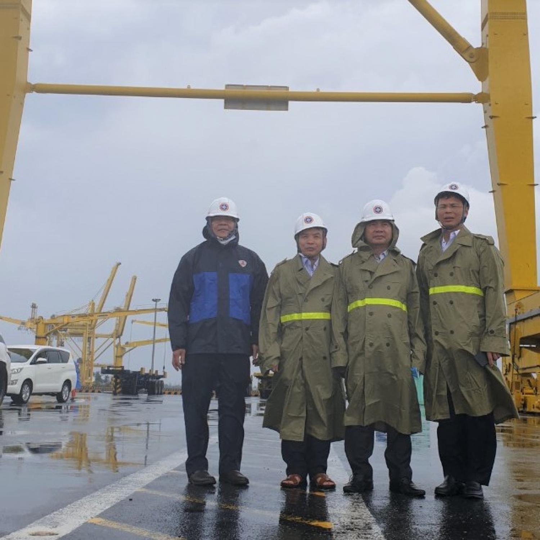 Cục Hàng hải Việt Nam khẩn trương triển khai công tác phòng chống cơn bão số 5
