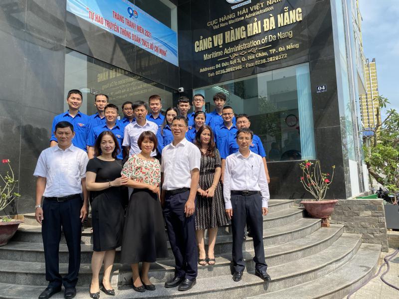 Chi đoàn Cảng vụ Hàng hải Đà Nẵng tổ chức thành công Đại hội nhiệm kỳ 2021-2023