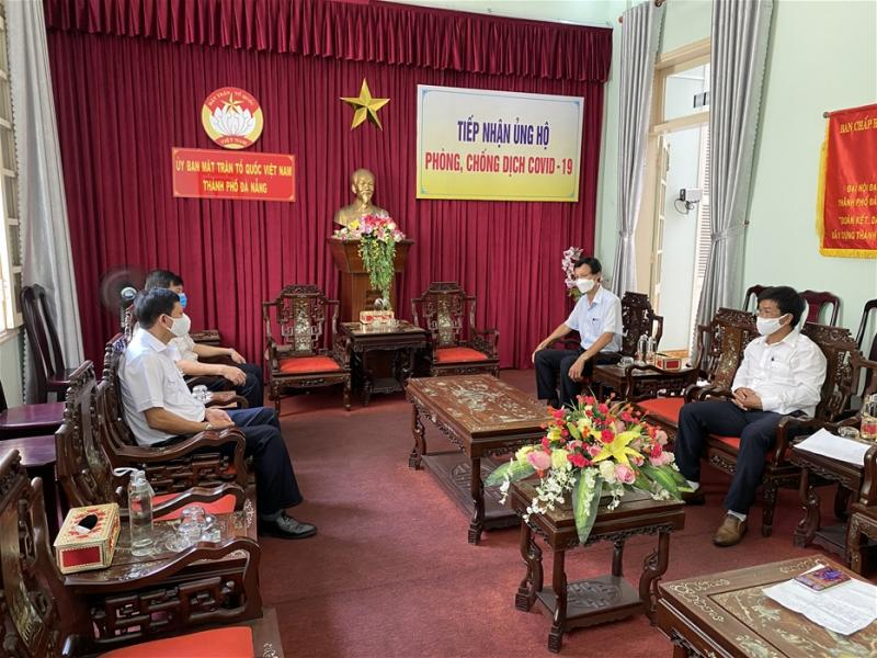 Agencies and units in the maritime industry in Da Nang support the prevention and control of COVID 19