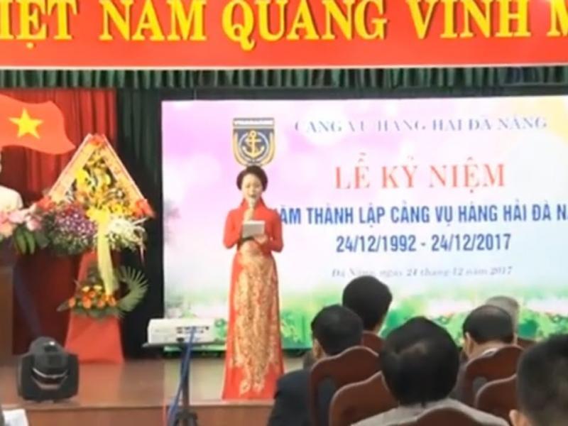 Kỷ niệm 25 năm thành lập Cảng vụ Hàng hải Đà Nẵng